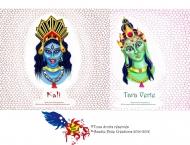 Lampions de Kali et Tara Verte, Photoshop