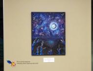 Vendue-Nebula 1- Acrylique sur toile, 16 x 20