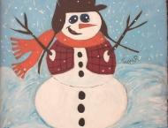 Bonhomme de neige, Foodland de Tracadie, Noël 2012
