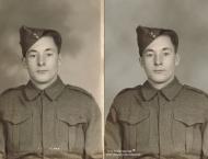 Soldat Cyrille portrait