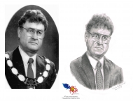 Allan Sonier,Crayon 8 x 10, Vendu à la mairie de la ville du Grand Tracadie-Sheila