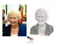 À Vendre- Antonine Maillet, Crayon 8 x 10