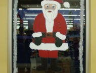 Papa Noël, Coop de Tracadie Décembre 2014