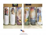 À Vendre- Lampions, Fée Machaon, Fée Saturnie, Archange Michaël, Archange Raphaël, Paysage et Marie (Maris Stella)